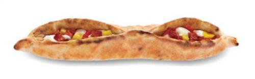 Pizza salami piquant et poivron