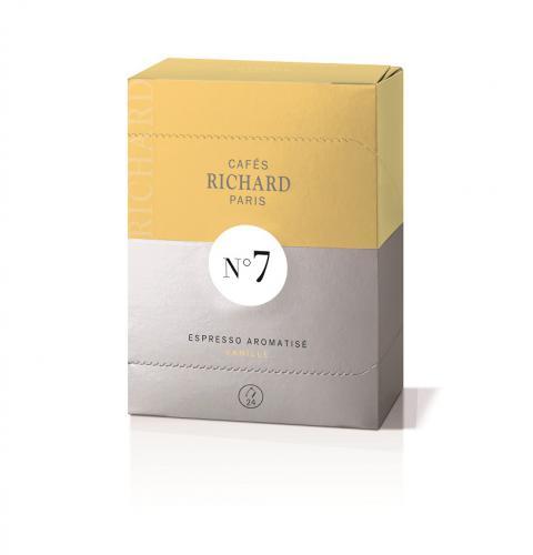 Capsule Expresso Premium aromatisée à la Vanille