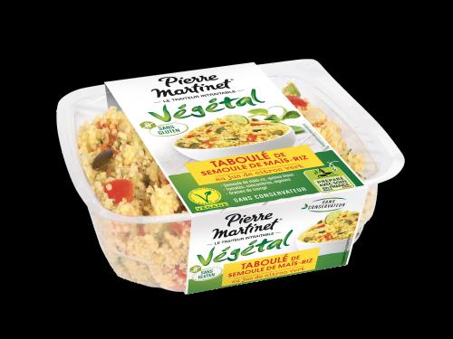 Taboulé semoule de maïs-riz Gamme Végétale