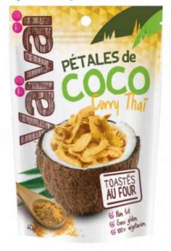 Pétales de coco au curry Vaï Vaï