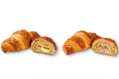 Croissants fourrés version salée