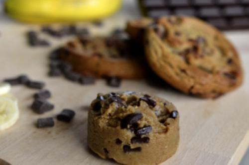 Cookie Puck Banane Chocolat