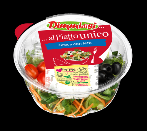 Salade repas 'Menu fraîcheur'