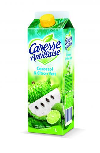 Jus de Corossol - Citron Vert Caresse Antillaise
