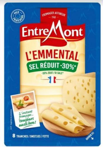 L'Emmental Sel Réduit -30%Entremont