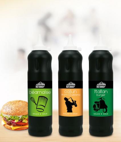 Sauces Italian Burger, Cajun et Béarnaise