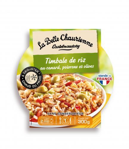 Timbale de riz au canard La Belle Chaurienne
