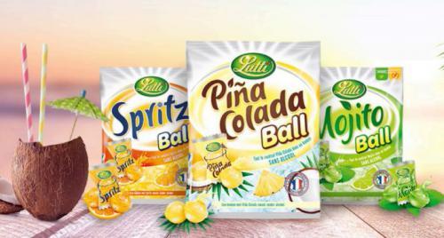 Bonbons Spritz et Pina Colada ball