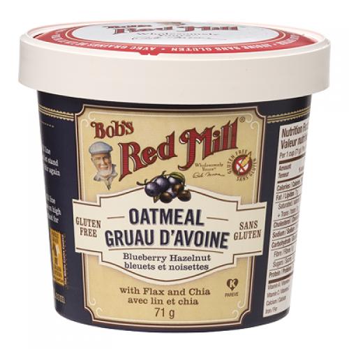 Oatmeal Cup myrtilles et noisettes