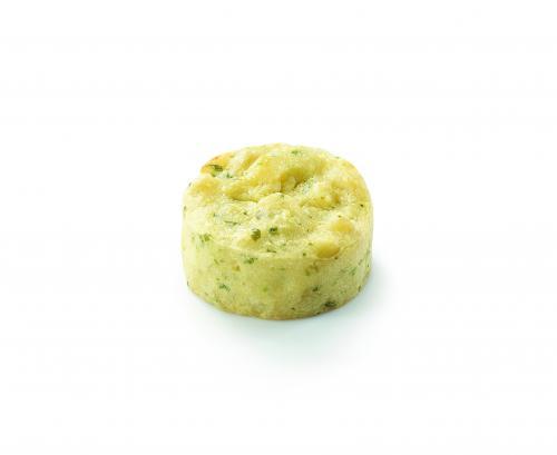 Ecrasé de pommes de terre à l'huile d'olive