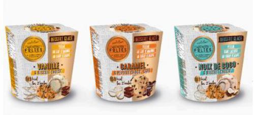 Les desserts glacés végans et sans lactose