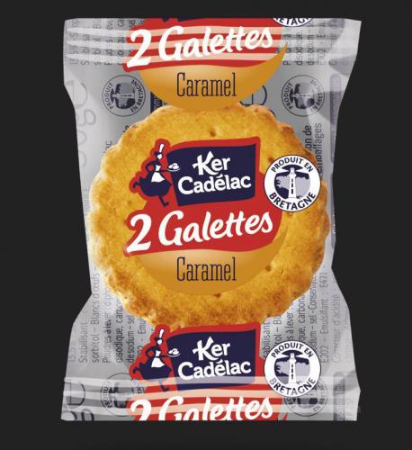 Les 2 Galettes au caramel