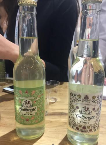 Gallimaté Ginger Ale et Tonic