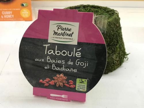 Taboulé baies de goji et badiane