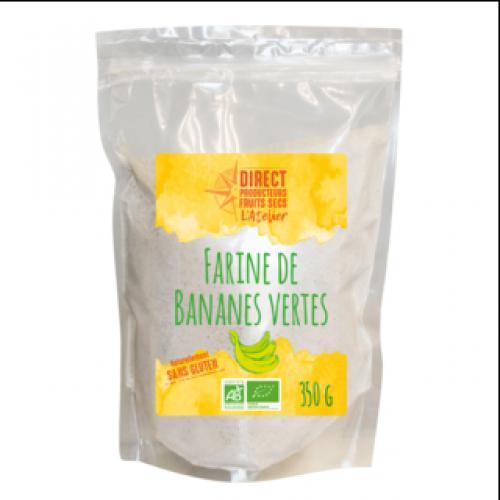 Farine de bananes vertes biologiques