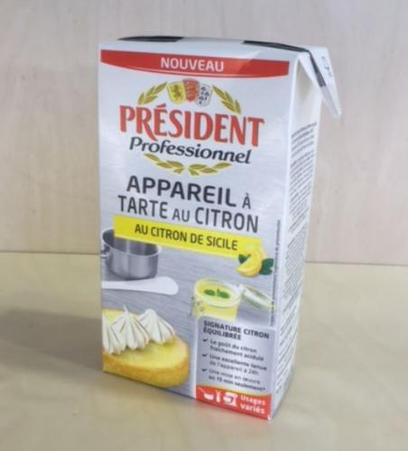Appareil à tarte au citron de Sicile UHT