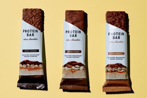 Barres chocolatées protéinées