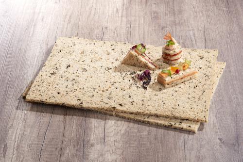 Les plaques de pain aux algues