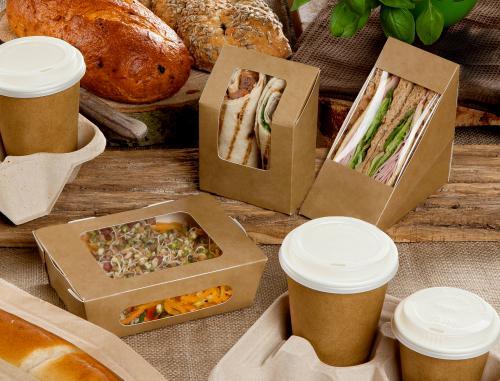 La gamme d'emballages écologiques Zest ™