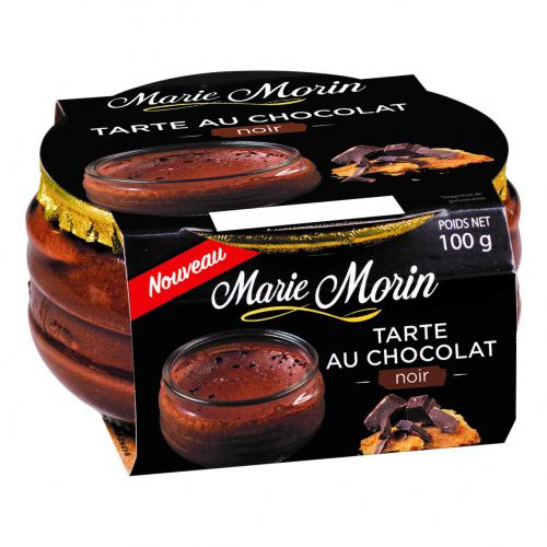 Tarte au chocolat noir 100 g