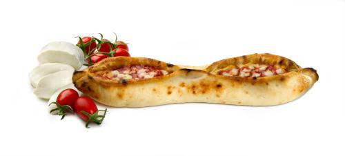 Pizza-gondole tomate mozzarella