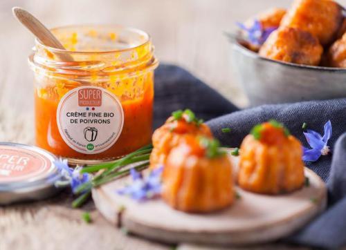 Crème fine Bio de poivrons
