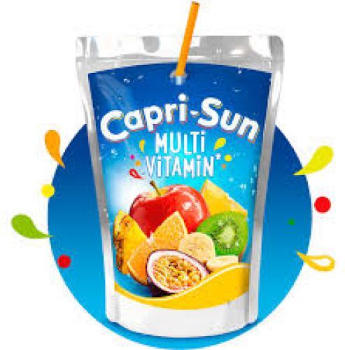 Capri-Sun Multi-Vitamin moins sucré