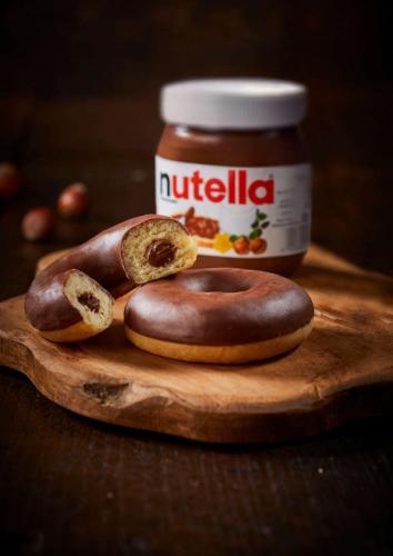 Donut au Nutella