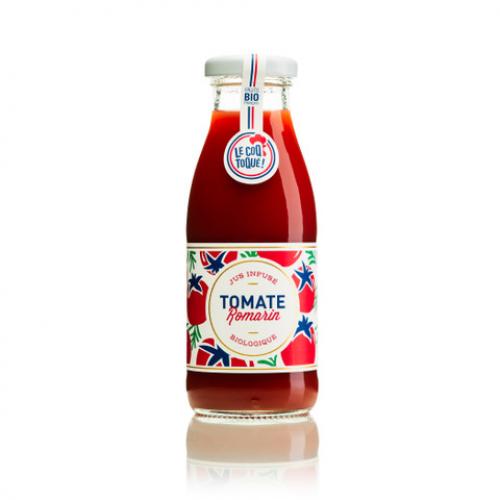 Jus de tomate bio-Romarin Le Coq Toqué