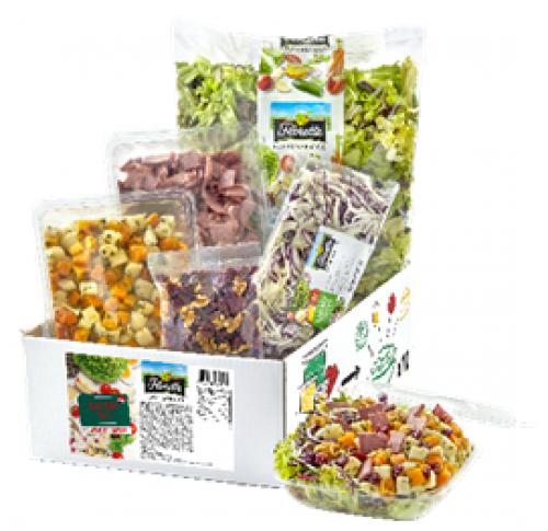 Kit 10 salades repas - Recette spéciale Noël