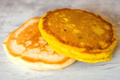 Pancakes à la levure de boulanger