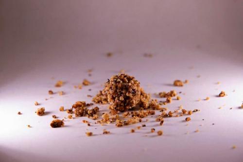 Billes de biscuits à la noisette inspirées d'un voyage en Turquie