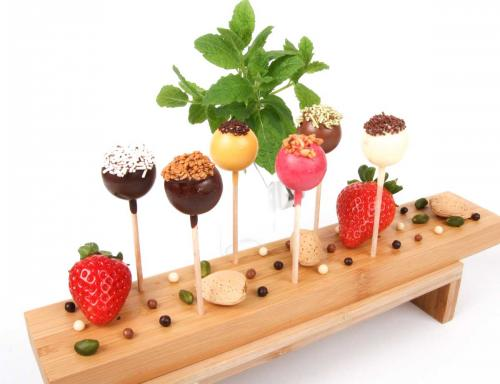 Sucettes au chocolat 6 variétés pour réceptions