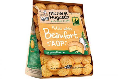 Biscuit sablés salés au Beaufort AOP