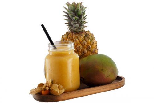 Mix de fruits pour smoothie IQF – ananas mangue physalis