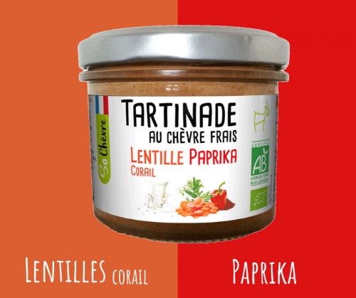 So Chèvre Apéro Potiron & Lentilles Corail