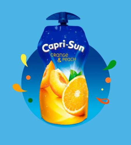 Capri-Sun en poche refermable