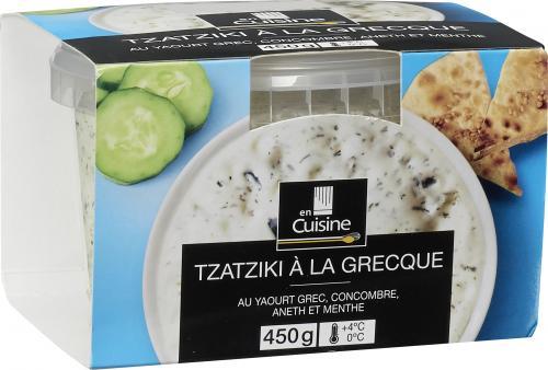 Tzatziki à la grecque