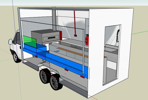 Food trucks et remorques Beau Comme Un Camion