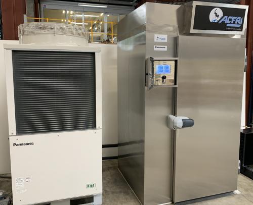 Cellule de refroidissement à gaz propre