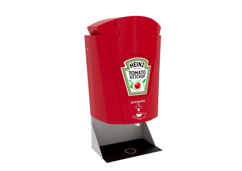 Distributeur de sauce sans contact Heinz