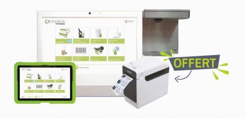 Imprimante et fonction VAE ePack hygiène