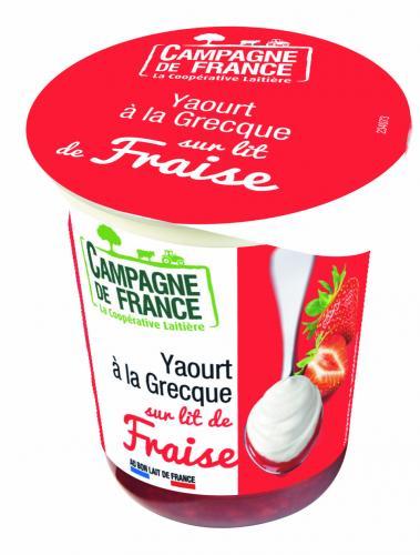 Yaourts à la grecque Campagne de France