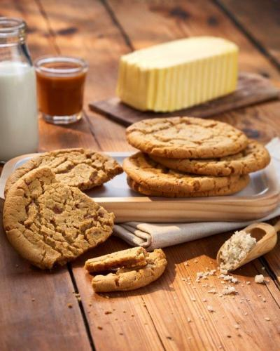 Cookie Luxury cuit au caramel