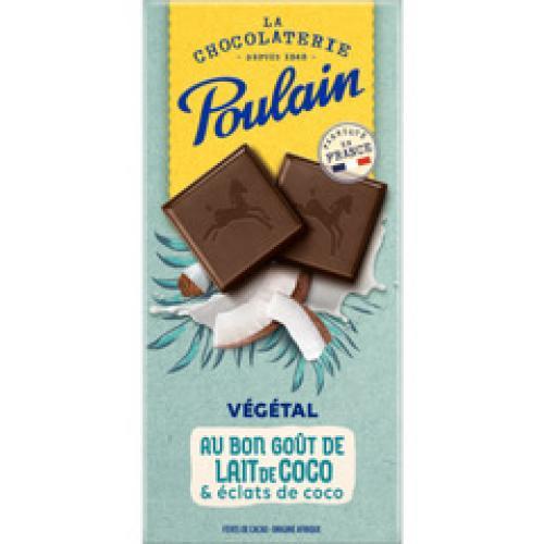 Tablette de chocolat, gamme végétale