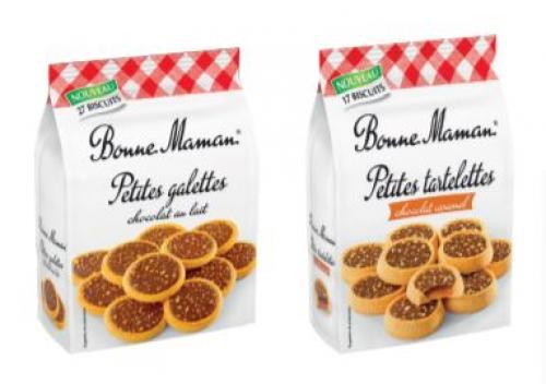 Petites galettes et tartelettes chocolatées Bonne Maman