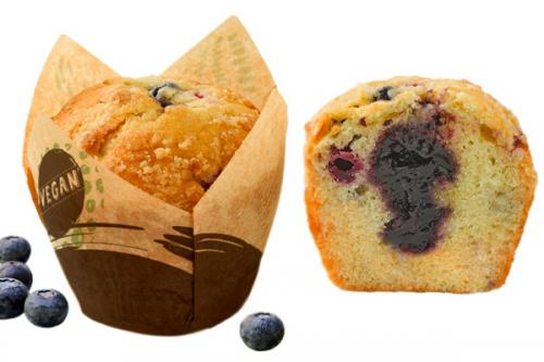 Muffin Vegan Fruits Rouges