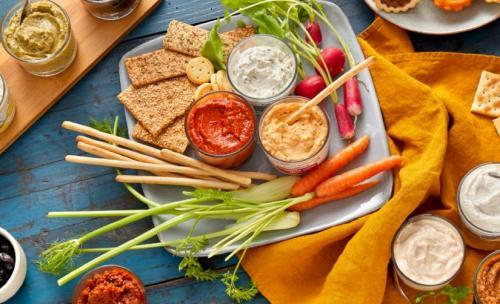 Tartinables de légumes