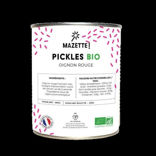 Pickles bio Mazette