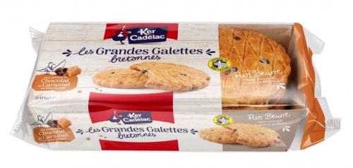 Biscuits bretons emballage carton recyclable